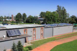 Gabrypol - System nieinwazyjnego montażu na dachach blaszanych - przed rozbudową