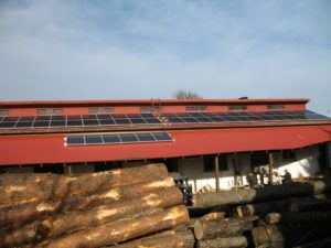 Tartak w Zawierciu - System nieinwazyjnego montażu na dachach blaszanych