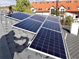 Instalacja o mocy 6,48 kWp - z pozdrowieniami od naszego montera - fotografa :)
