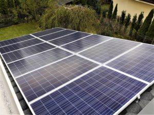 Instalacja o mocy 6,48 kWp.