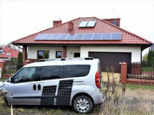Instalacja o mocy 2,7 kWp