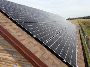 Instalacja o mocy 9,92 kWp - 32 panele monokrystaliczne o mocy 310 Wp
