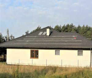 Dom jednorodzinny w okolicy Ogrodzieńca - konstrukcje wsporcze