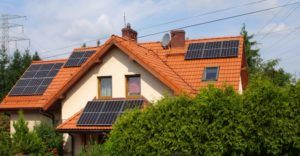 Jastrzębie Zdrój - Dach pokryty dachówkami ceramicznymi
